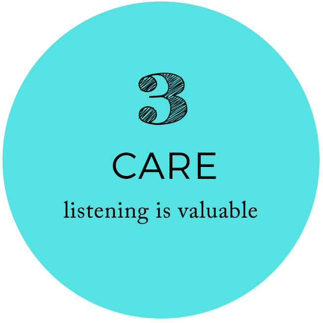Care - Listening is Valuable