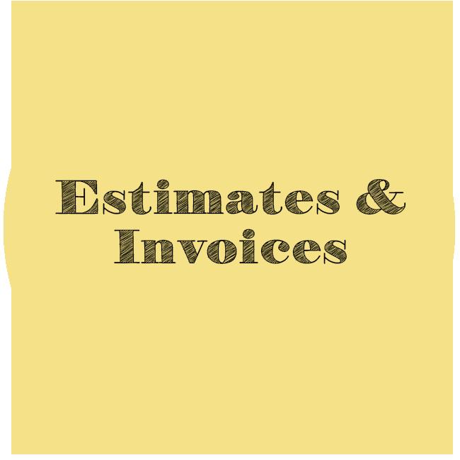 Estimates & Invoicing