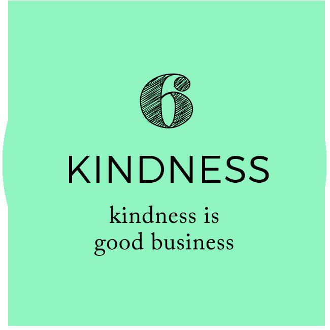 Kindness - Kindness is Good Business