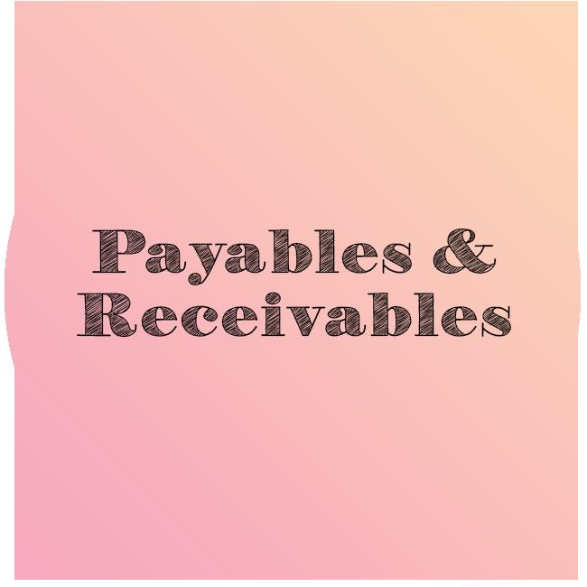Payables & Receivables